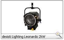 desisti Lighting Leonardo 2kW